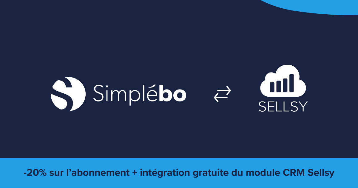 integration Simplebo et sellsy